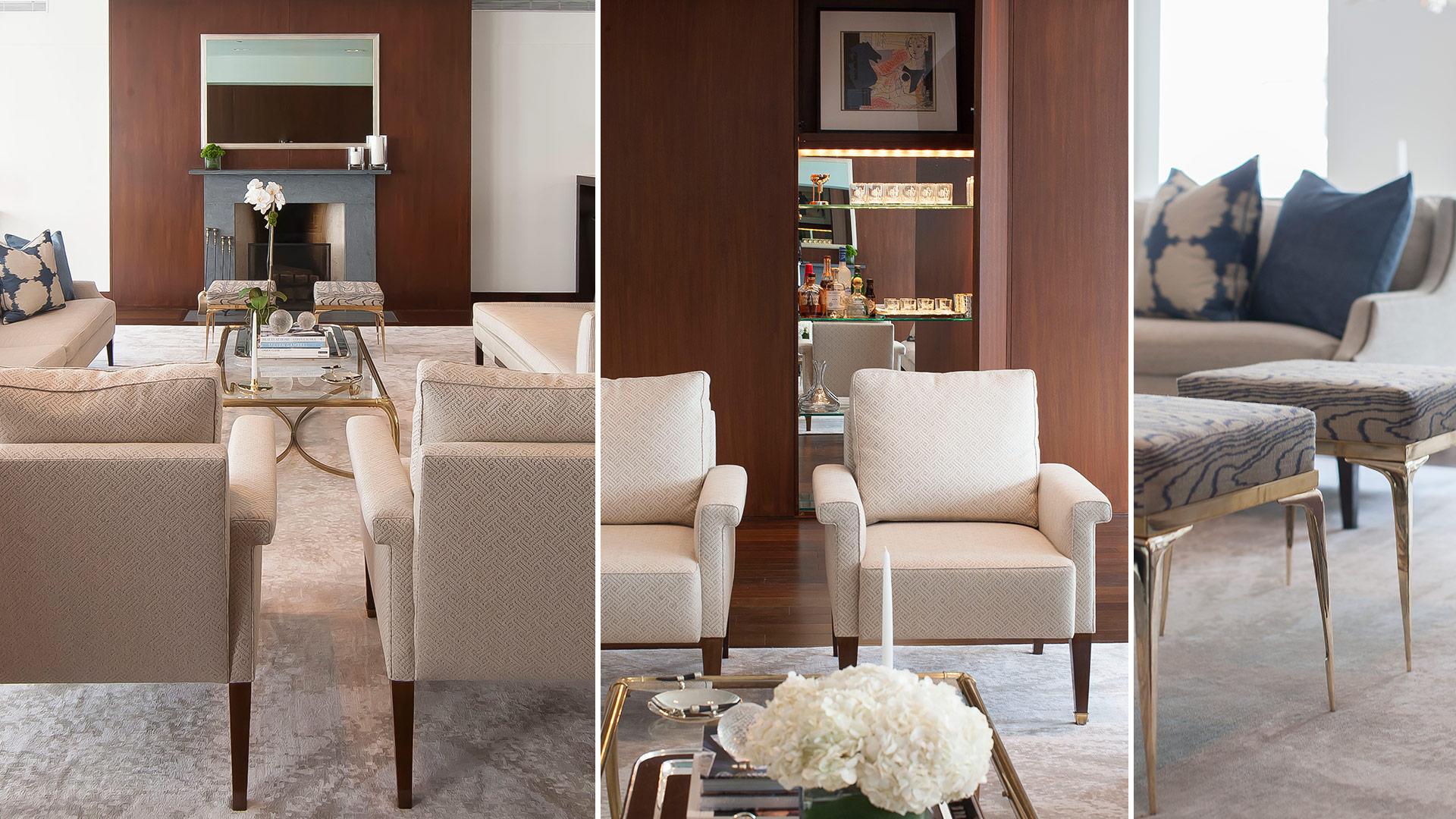 Hudson laight area interior design for Living area interior design
