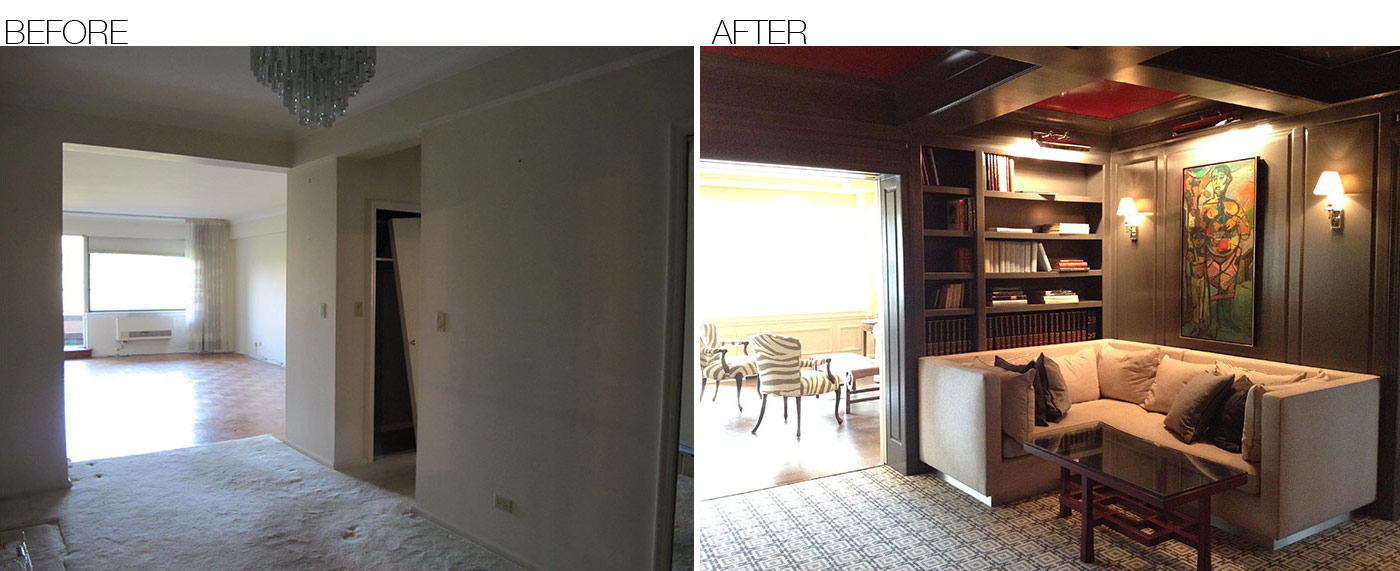 Before and after home interior design picture for Interior design pictures